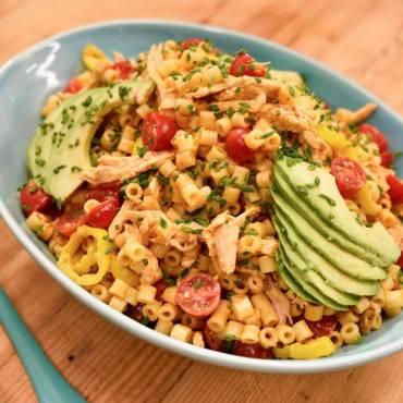 Honey-Chipotle Chicken Pasta Salad